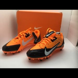 Nike Alpha Strike D Cleats Black/White/Ttl/ Orange